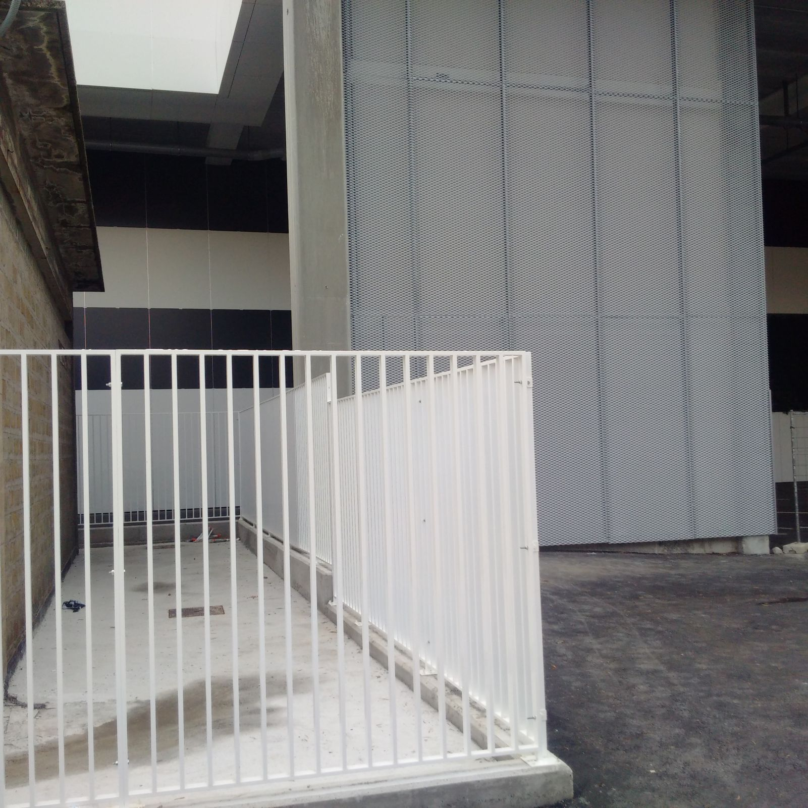 Panel barroteado