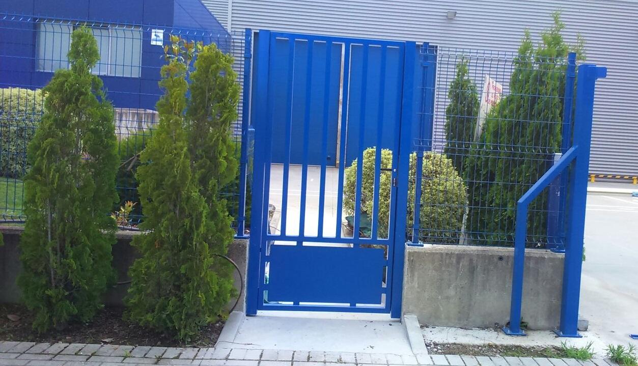 Puerta barroteada